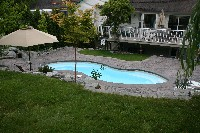 Venetian Fiberglass Pool in Fort Wayne, IN
